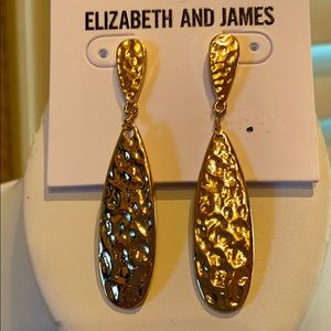 Elizabeth and James Gold Earrings